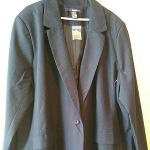 Navy Blue plus size blazer